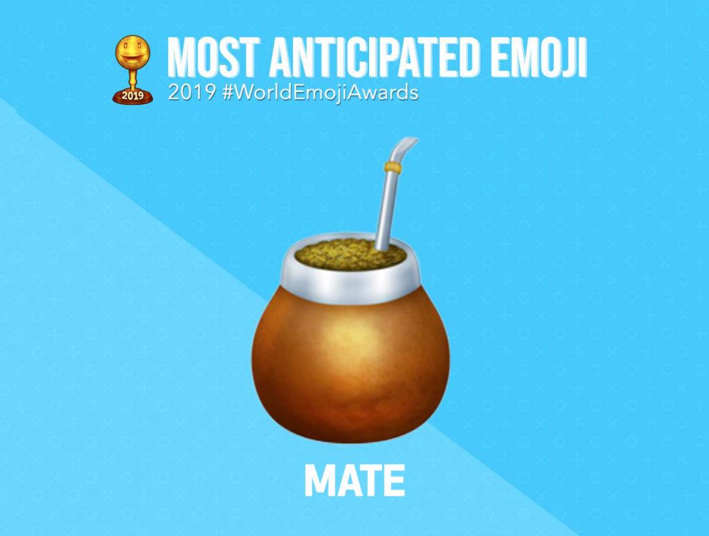 """Un emoji de un mate es el ganador del """"Emoji más anticipado del año 2019"""""""