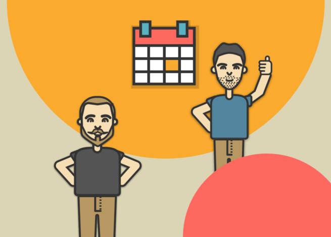 Rodrigo Vera y Max Martin presentan el calendario de septiembre.