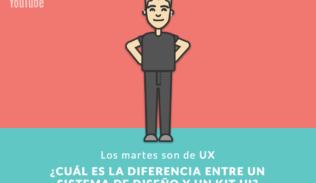 Luciano Cimino presenta las diferencias entre kit UI y Sistema de Diseño.