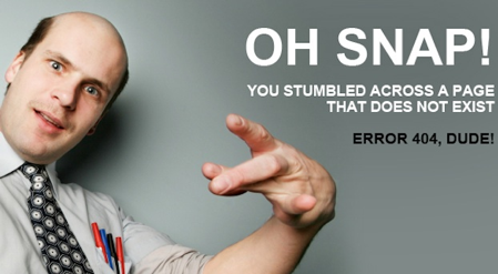 Error 404 en Slonky.