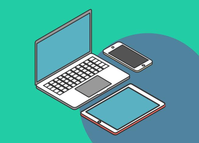 Equipos electrónicos que simulan los efectos de red y plataformas digital.