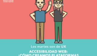 Max Martin y Valentina Galleani presentan el tema del capítulo. Accesibilidad web. ¿Cómo creamos plataformas inclusivas?