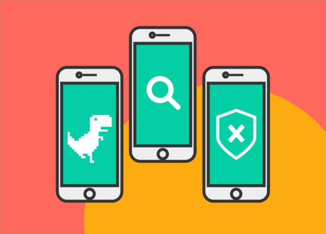En Blog IDA tres smartphones representan las tres tendencias en diseño UX según el modelo holandés.
