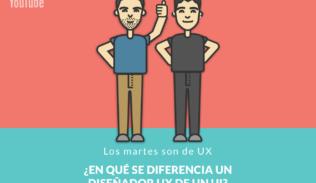 ¿En qué se diferencian un diseñador UX de un UI? en Los Martes son de UX de Blog IDA.