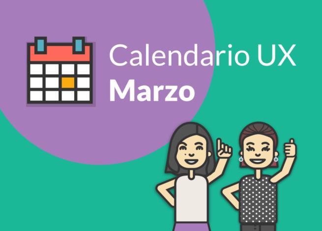 Andrea Zamora y Mónica Pavón presentan el calendario de Marzo en blog IDA.