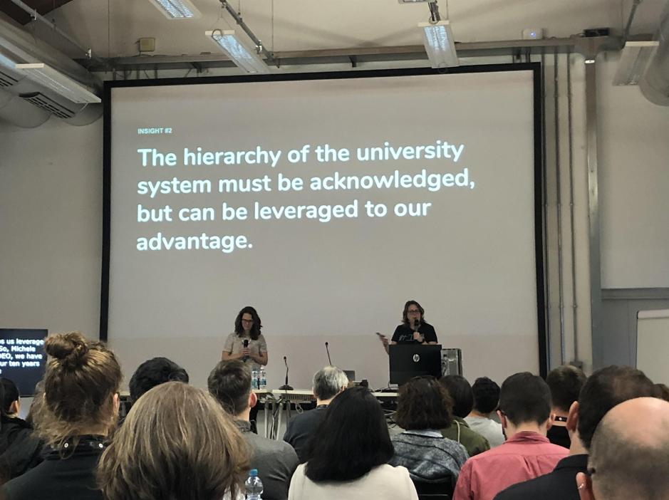 "Muestra de la charla en Education Summit Milan 2020, llamada ""Agents of Empathy: Reinventing the University from the Inside"" en Blog IDA."