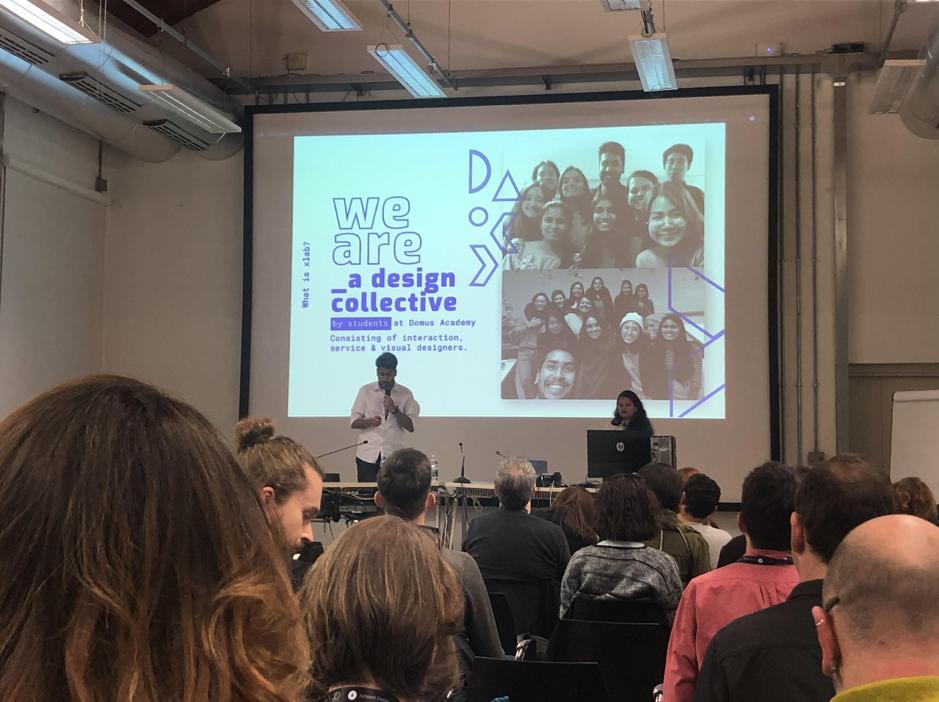 "Muestra de la charla ""X-Lab: A never-ending student design experiment"" presentada en Education Summit Milan 2020. Foto por Blog IDA."