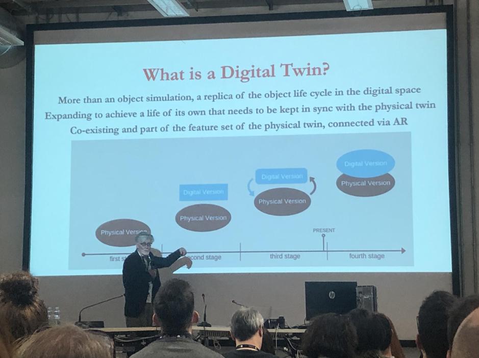 "Charla ""Pinocchio 2.0 - Teaching students to design their Digital Twin"" en el Education Summit Milan 2020. fotografía por Blog IDA."