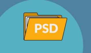 El Repositorio PSD es una gran herramienta de recursos en diseño.
