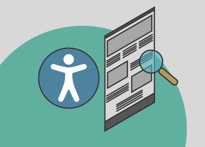 Accesibilidad en la diagramación de textos y diseño web en Blog IDA.