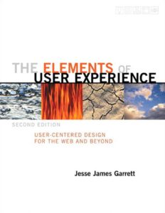 "Libro sobre diseño UX ""The elements of user experience"""