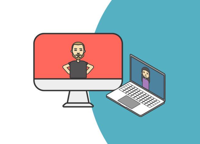 Consejos para sacar provecho a las videollamadas en plataformas online.