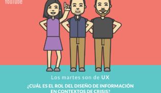 Andrea Zamora, Rodrigo Ramírez, y Rodrigo Vera en LMSDUX