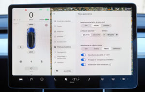 Interfaz Tesla