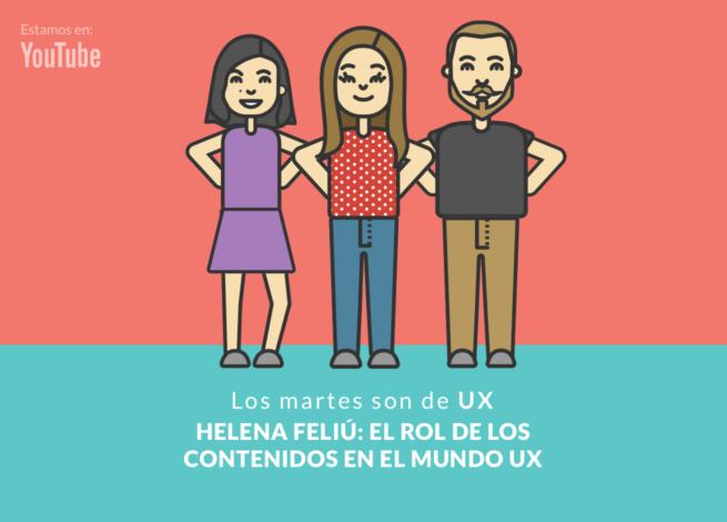 Helena Feliú y el UX Content.
