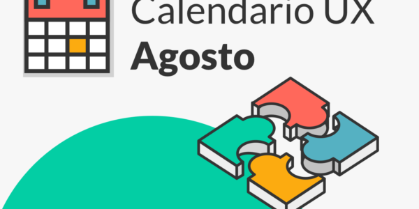 Calendario con los eventos UX más destacados de julio.