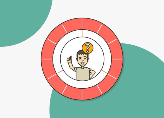 Personas, arquetipos o usuarios. El diseño de Juan Benitez sostiene esta pregunta dentro de un círculo.