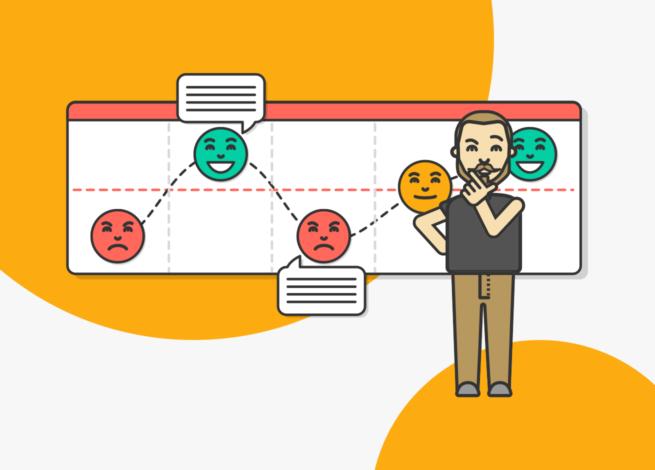 Rodrigo Vera presenta los journey maps y su enfoque en la comunicación.