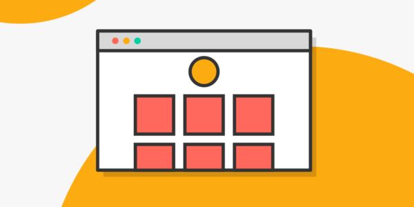 Un sitio web representa un portafolio UX en Blog IDA.