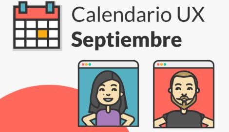 Imagen de Septiembre: Eventos UX para lo que quieras