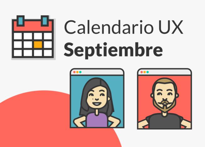 Andrea Zamora y Rodrigo Vera, presentan los eventos online sobre UX en septiembre 2020.