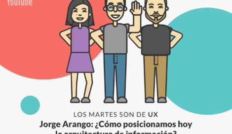 Imagen de Jorge Arango y el rol de la arquitectura de la información