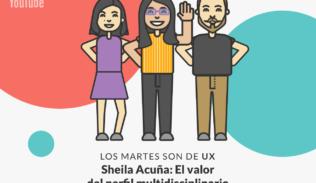 Imagen de Sheila Acuña: Diseñar soluciones para la diversidad