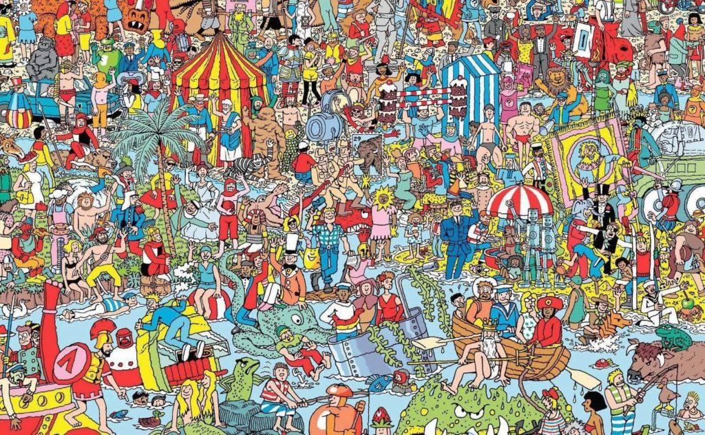 Imagen de dónde está Wally.