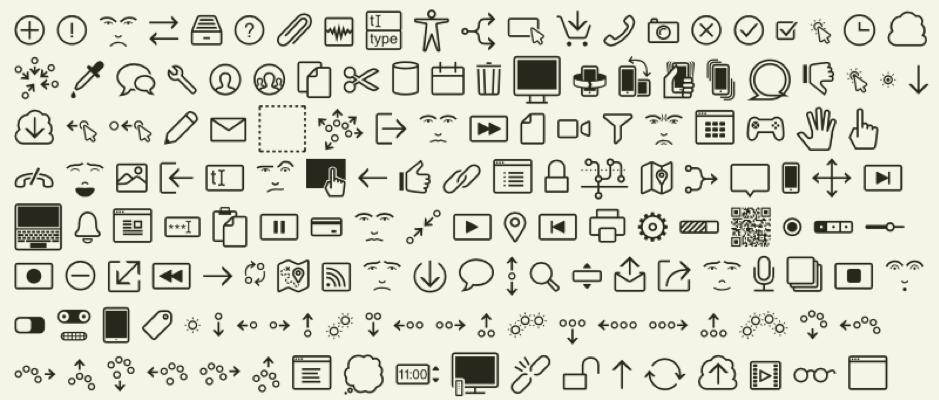 Partituras PiX que se usan durante el diseño de interacción.