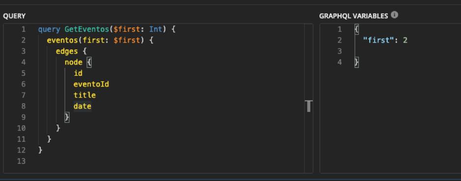 Ejemplo 1 del uso de API GraphQL con código.