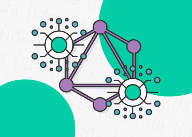 Células y círculos representan la incorporación de API GraphQL en Blog IDA.