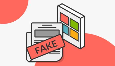 Imagen de Microsoft en contra de la desinformación y las deepfakes