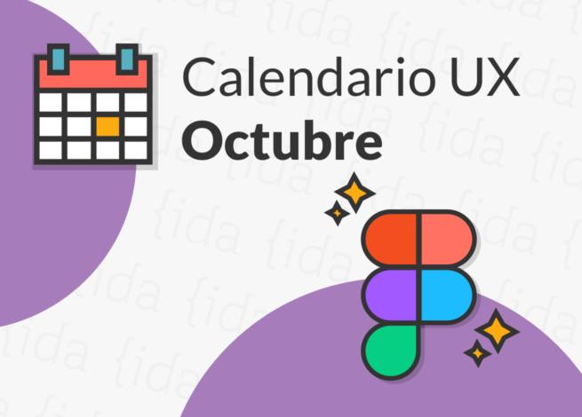 Calendario UX octubre