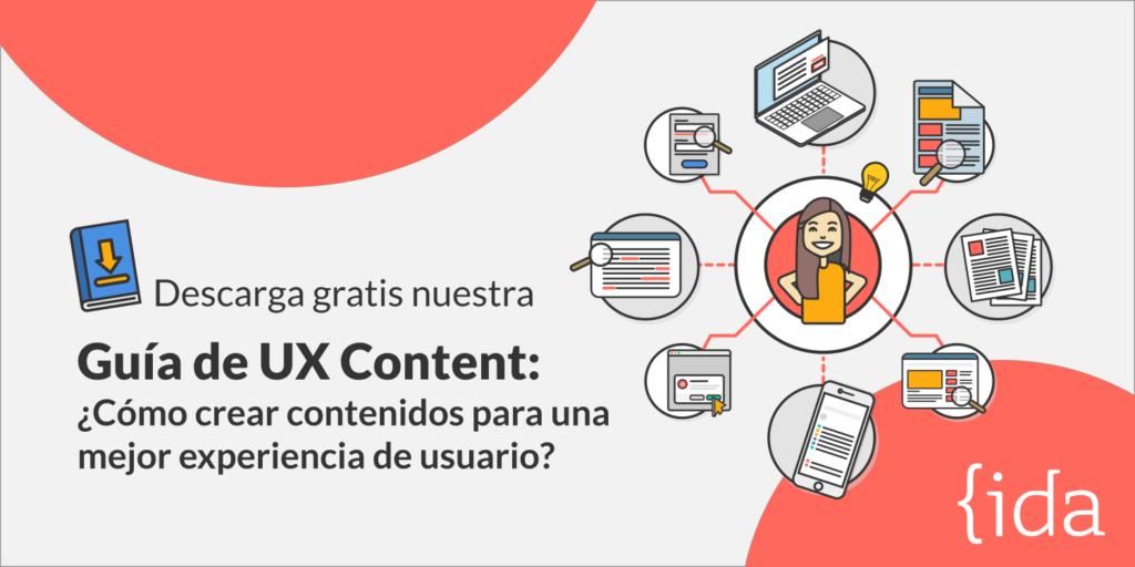 Descarga aquí nuestro eBook: Guía de UX Content.