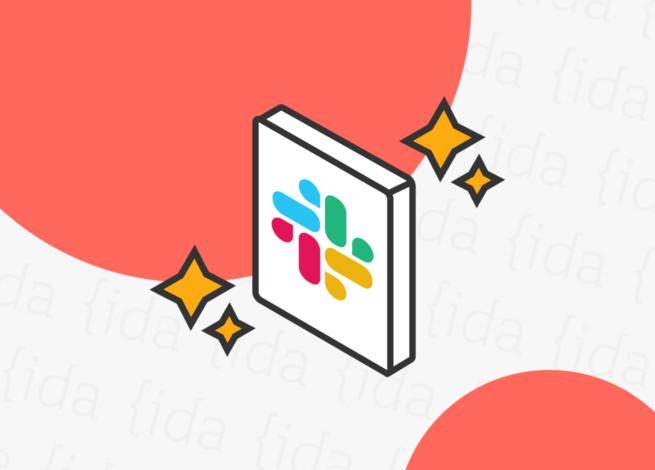 Logo de Slack con brillos a su alrededor, lo que refleja las nuevas funcionalidades que incorporará.