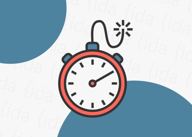 """combinación entre un reloj y una dinamita lo que refleja el """"Crunchtime""""."""