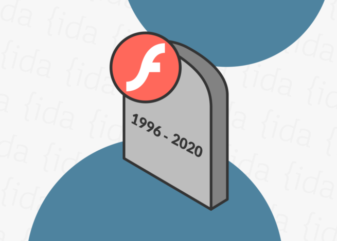 Lapida de Adobe Flash Player (1996-2020).