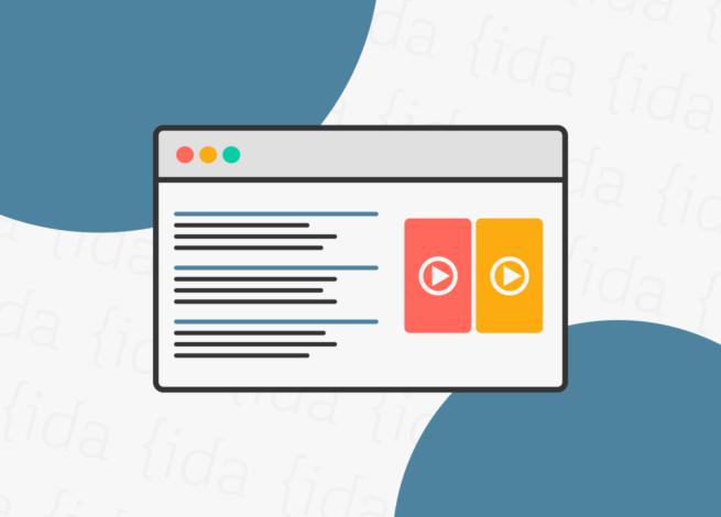 Interfaz de Google con la inclusión de videos en su motor de búsqueda.