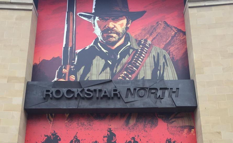 Frontis oficinas de Rockstar Games, cuestionados por prácticas como el crunchtime