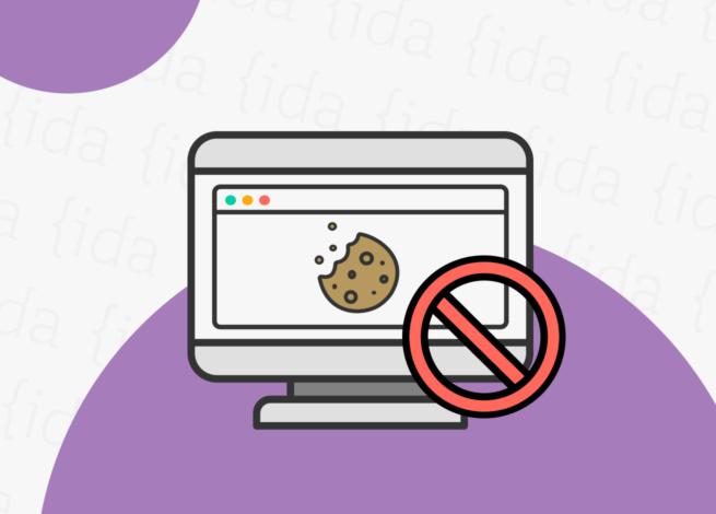 """Pantalla de un ordenador con una ventana abierta en la que se hace referencia a las """"cookies"""" de Google."""