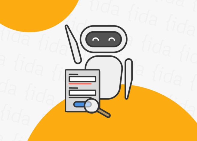 Un bot que hace referencia a la IA detrás de una interfaz que la contrapone con el UX Writing.