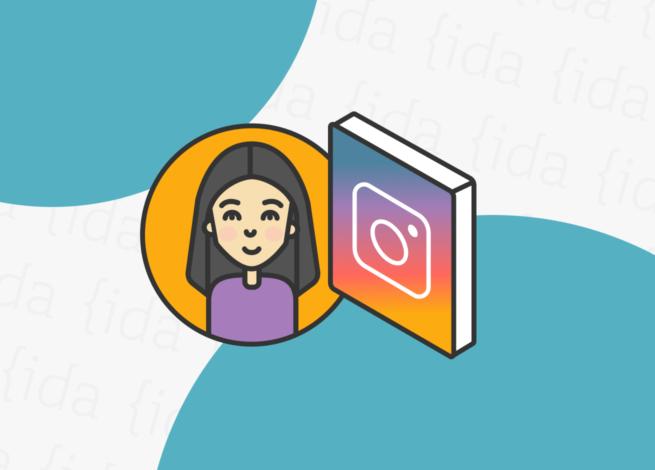 Logo de Instagram y a su costado el icono de una niña que hace referencia a la inclusión de menores en una nueva plataforma.
