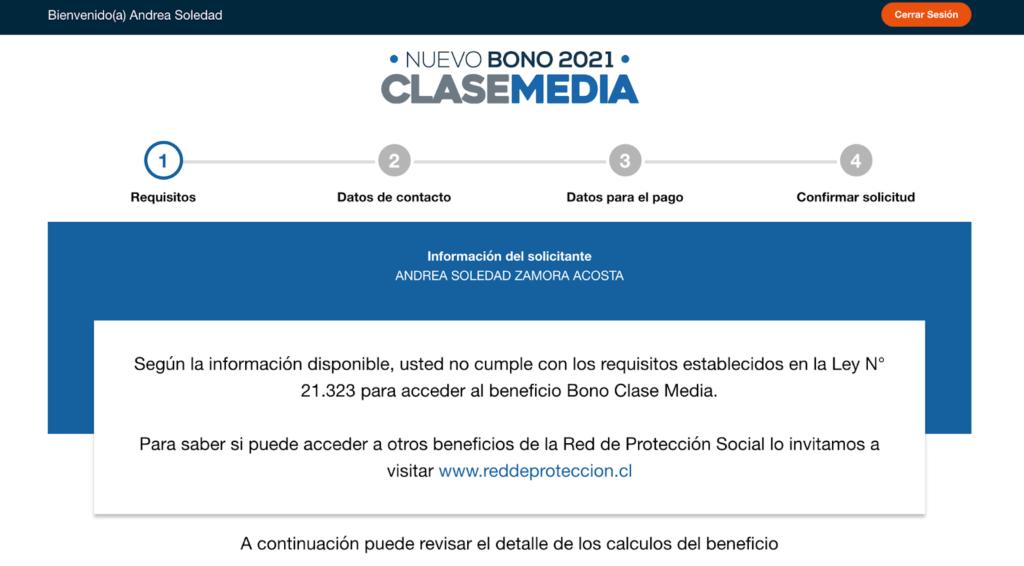 Información extra sobre el acceso al bono de la clase media.