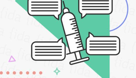 Imagen de Nuevas teorías conspirativas sobre la vacuna se toman Facebook en Medio Oriente