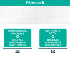 Fórmula para calcular el bono.
