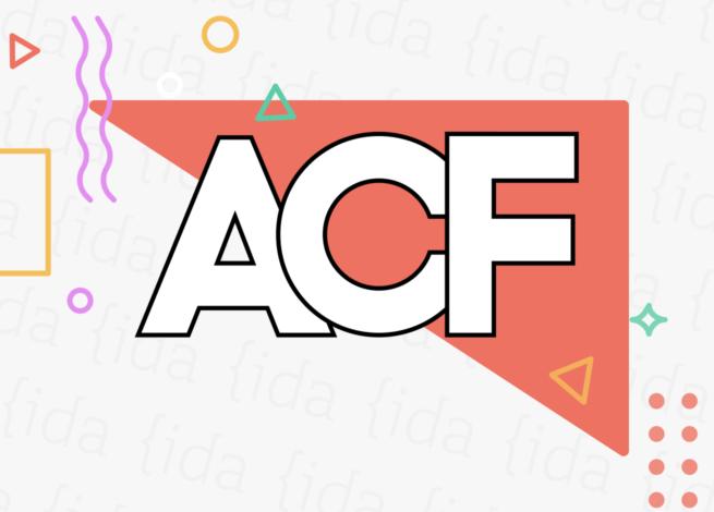 Logo de Advanced Custom Fields.
