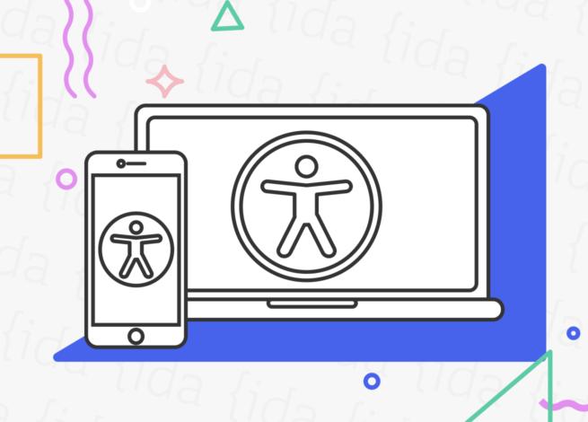 Smartphone y Notebook que hacen referencia a la accesibilidad web.