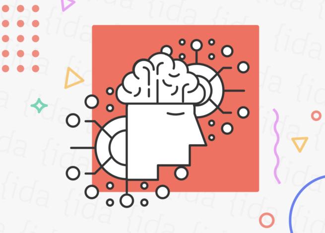 Cerebro de persona con tecnología a su alrededor que hace referencia a la IA.