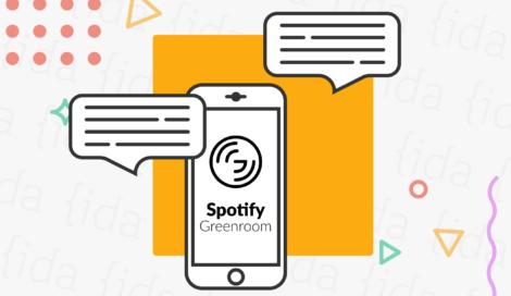 Imagen de Greenroom: Las salas de audio llegan a Spotify