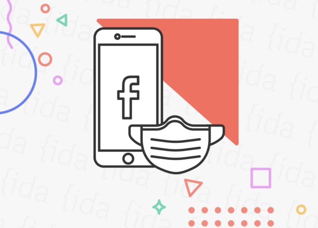 Logo de Facebook, esto hace referencia a la disputa entre Joe Biden y la red social.